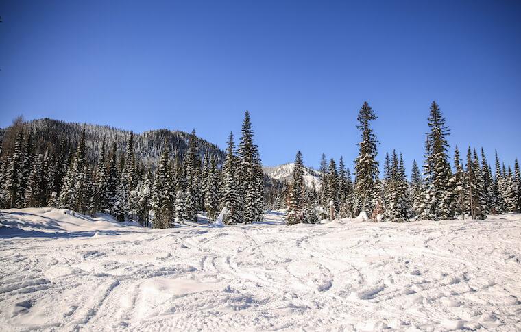 Snowmobile Trails Northwest Montana